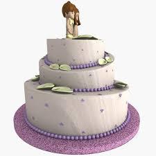 wedding cake model 3d model weeding cake 01 cgtrader