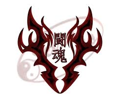 tribal warrior spirit kanji
