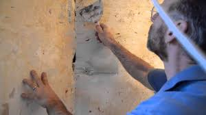 how to patch and plaster walls in your old house youtube