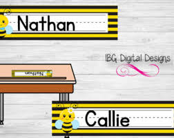 Desk Name Tags by Desk Name Tags Etsy