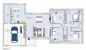 plan maison 6 chambres plain pied plan maison plein pied moderne plan maison 6 chambres plain pied