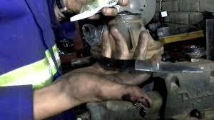 massey ferguson 240 wheel bearing replacement youtube