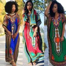 dress casual african print african dress dashiki long dress