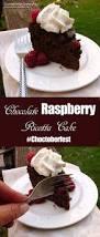 chocolate raspberry dessert chocolate raspberry ricotta cake choctoberfest sumptuous spoonfuls