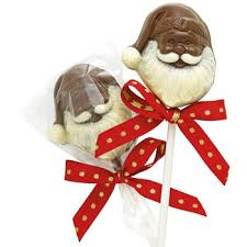 christmas chocolate chocolate santa pops christmas chocolate candy lollipops