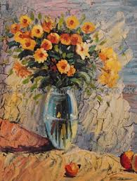 Free Shipping Flowers Aliexpress Com Buy Oil Paintings On Canvas Free Shipping Flowers