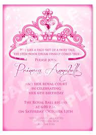 28 princess birthday invitation templates free birthday party