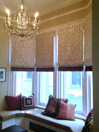 Roman Curtains Patterned Roman Shades Bringing Your Windows To Life U2014 Deb