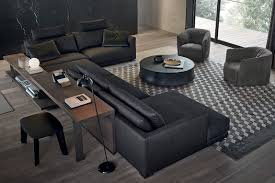 showroom canapé le bristol de poliform le canapé des espaces intemporels