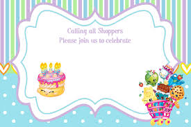 Hello Kitty Invitation Card Maker Free Updated U2013 Free Printable Shopkins Birthday Invitation Template