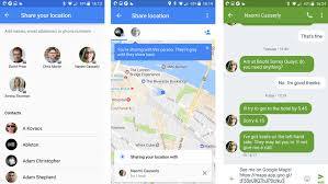 Googl3 Maps Share Your Location In Real Time With Google Maps On Android And