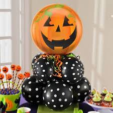 Balloons On Sticks Centerpiece by Halloween Balloon Decoration Ideas Halloween Party Idea Kittens