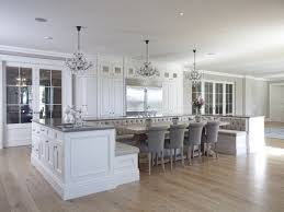 Kitchen Island Bench Designs Kitchen Island With Built In Seating And Upholstered Bench Trends