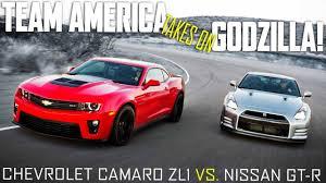 Nissan 2013 Gtr 2012 Chevrolet Camaro Zl1 Vs 2013 Nissan Gt R Premium Road Test