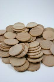 wood disk 100 unfinished wood discs wooden disc coins circles