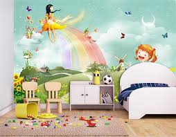 kids room special rainbow wallpaper for kids room sample