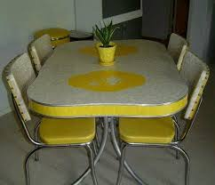 yellow kitchen table and chairs exciting yellow retro kitchen table and chairs 91 with additional