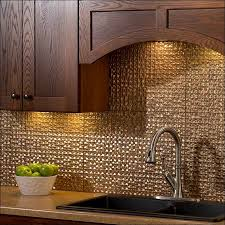 aluminum kitchen backsplash kitchen aluminum tiles metal backsplashes in residential