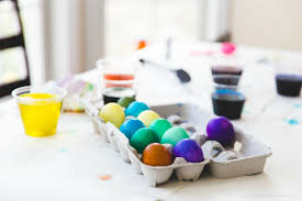 how to dye easter eggs with food coloring plain vanilla mom
