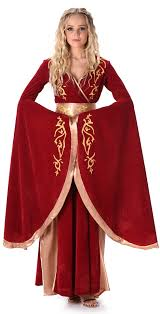 medieval queen cersei ladies fancy dress game of thrones womens