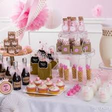 pink and gold baby shower decorations princess baby shower decoration idea party city