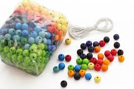 perle en bois pour attache tetine 480 perles en bois 12 mm jouets en bois grimm u0027s