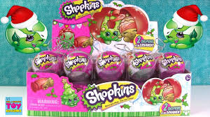 shopkins christmas ornaments 2016 new characters blind bag toy