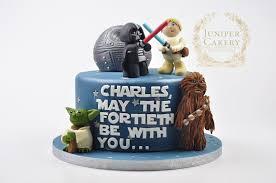 starwars cakes 40th birthday wars cake juniper cakery bespoke cakes in