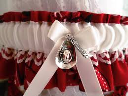 Wedding Garters Country Western Wedding Garter Set Bandanna Wedding Garters