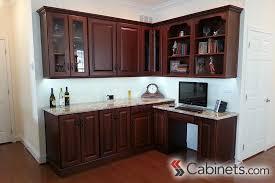 Cherry Glaze Cabinets Masculine Kitchen Design Cabinets Com