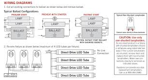 direct led tube light wiring diagram led tube light circuit led