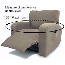 fancy suede stretch recliner covers at a great prices slipcovers