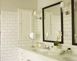 built in bathroom mirror narrow recessed medicine cabinet foter