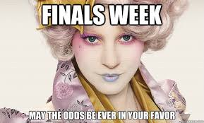 finals first things first