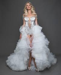 wedding fashion the best wedding dresses from bridal fashion week instyle