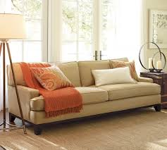 Pottery Barn Furniture Manufacturer Seabury Upholstered Sofa Pottery Barn