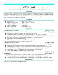 hvac technician resume exles best of hvac technician resume sle repair sle resume