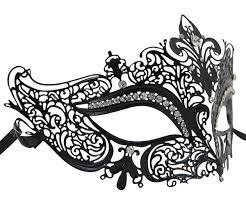 metal masquerade mask metal filigree crown masquerade mask