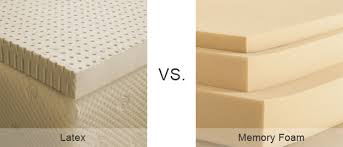 latex vs memory foam mattresses memory foam doctor