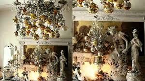 Christmas Tree Ribbon Decorating Baby Nursery Licious Gold And Silver Christmas Interior