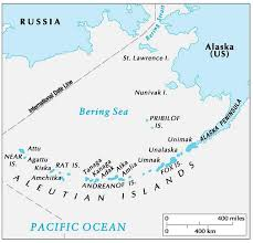 map of aleutian islands geography of the aleutian islands geography