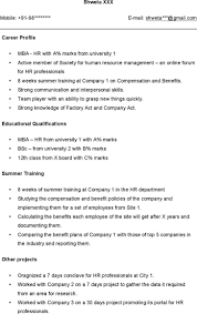 hr sample resume hr resume template download free premium templates forms sample resume for hr fresher