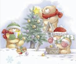224 friends christmas images teddy