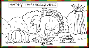 thanksgiving coloring page by avricci on deviantart