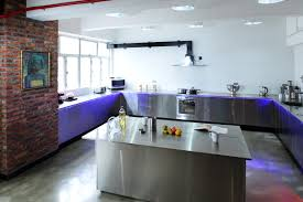 kitchen modern kitchen stainless steel countertops with 2 tier full size of kitchen stainless steel kitchen countertops u shaped kitchen cabinet brick wall electric gas