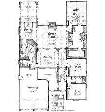 style home plans with courtyard maywood style home plan 026d 1391 house plans and more