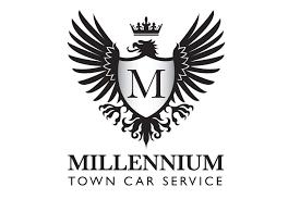 Town Car Rental Millennium Town Car Service Logo Design Jellyflea Creative