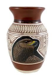 pt4863 handmade navajo pottery