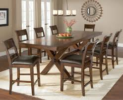 11 Piece Dining Room Set Counter Height Trestle Table By Hillsdale Wolf And Gardiner Wolf