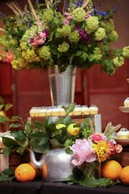 decorate with fresh flowers hgtv